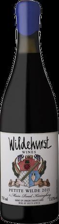 Petite Wilde 2015 Wildehurst Wines
